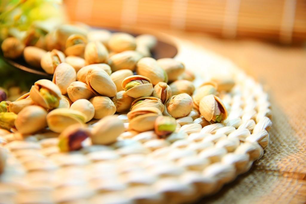 Propiedades de los pistachos contra el estrés