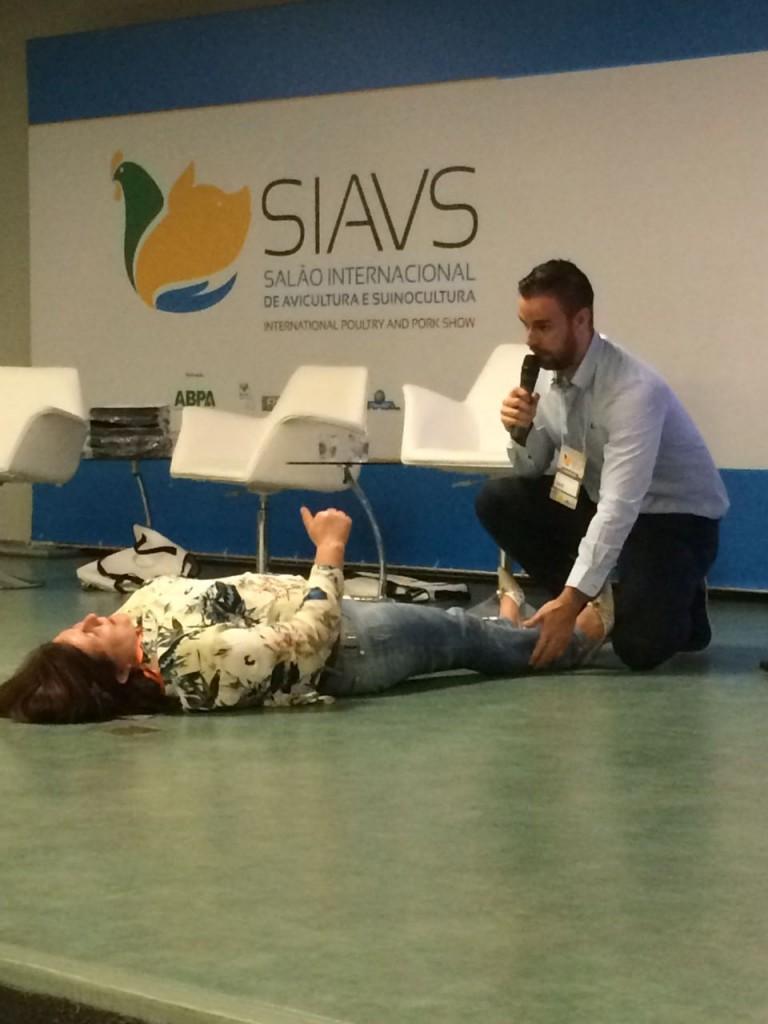 Cualtis en Brasil - trastornos musculeoesqueléticos - congreso