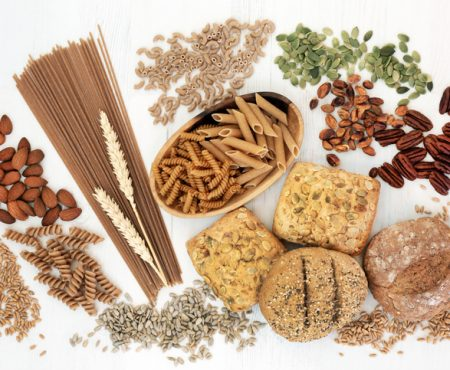 Microbiótica intestinal saludable y los alimentos no refinados