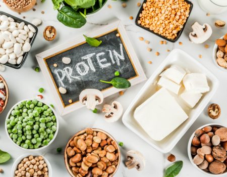 Proteína vegetal y pescado versus proteína animal
